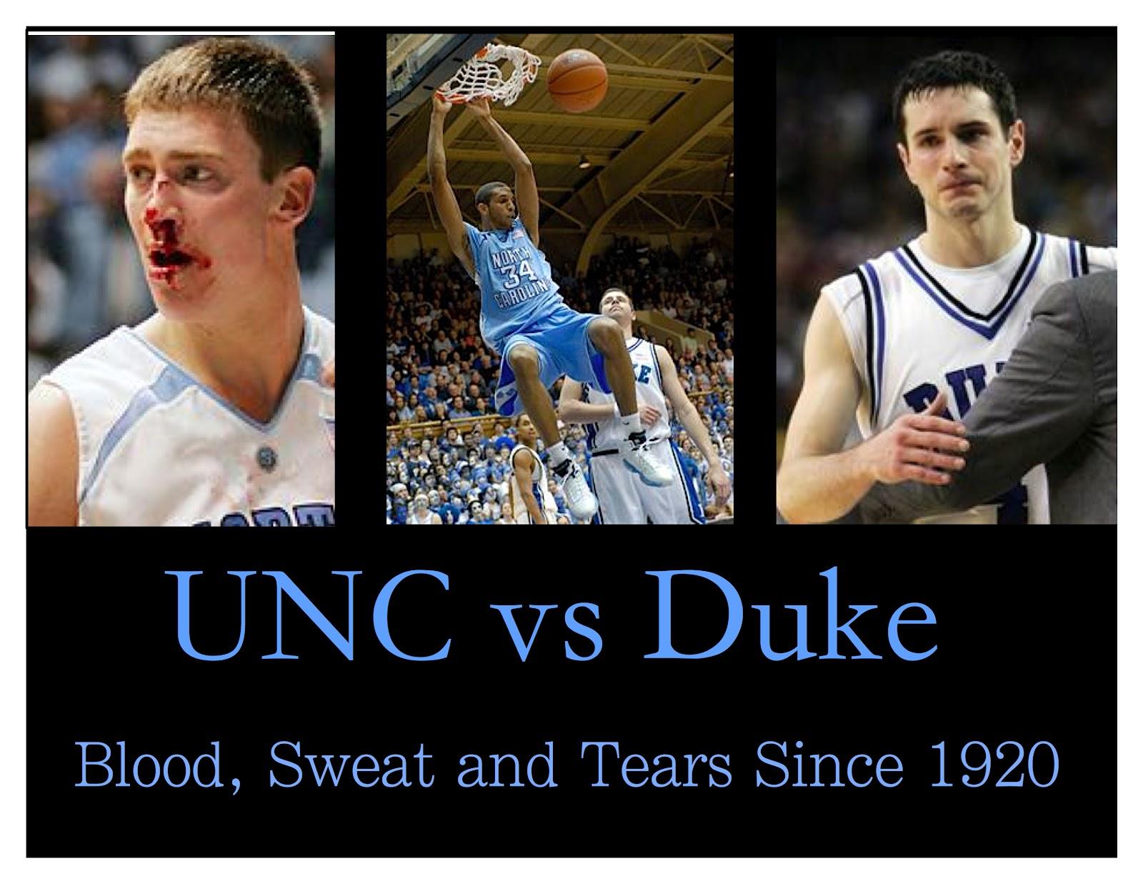 Duke vs. UNC- Who You Takin? - SportsAsToldByAGirl